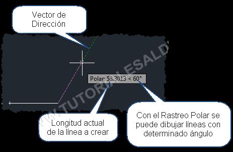 Componentes-de-Rastreo-Polar-de-AUTOCAD